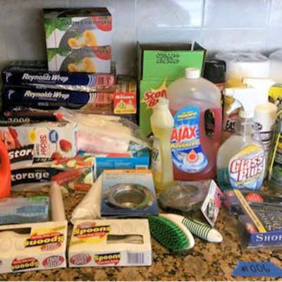 NNS006 Cleaning Supplies Assortment