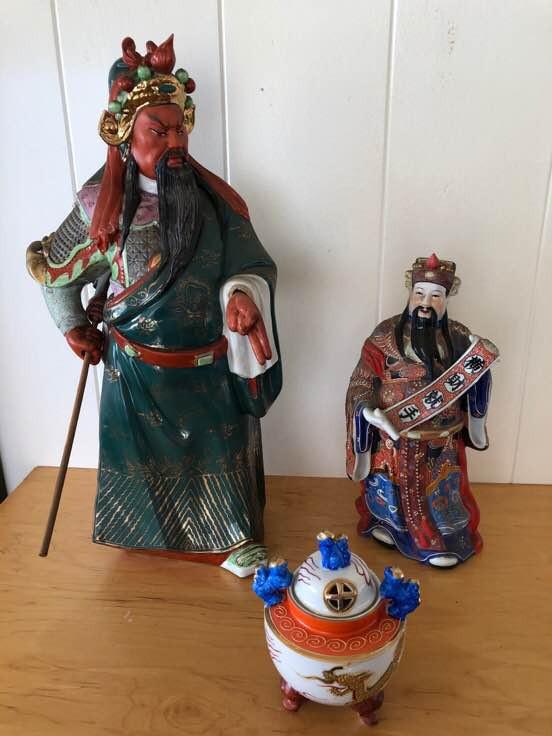 NNS129 Guan Yu Figurine and More