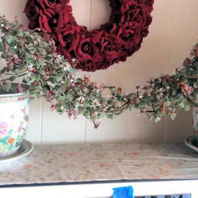 NNS117 Beautiful Pots with Jade (?) Plants