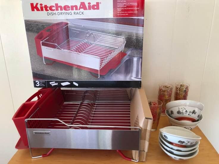 NNS136 KitchenAid Dish Drying Rack and More
