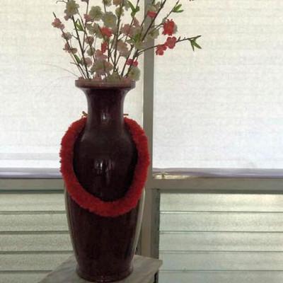 NNS119 Decorative Vase & Artificial Flowers