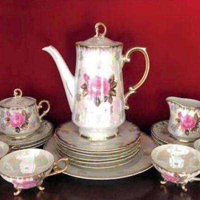 NNS106 Vintage Glossy Tea Set