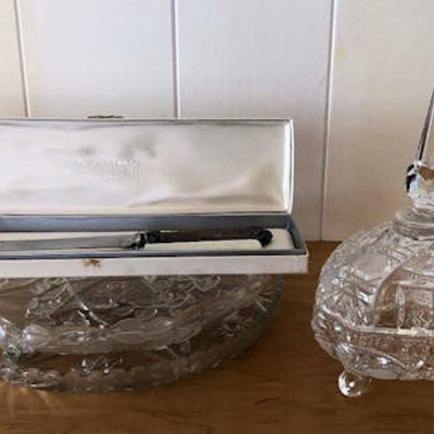 NNS153 Kristaluxus Candy Dish and More