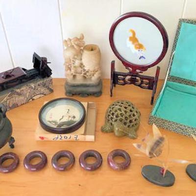 NNS121 Various Vintage Oriental Items