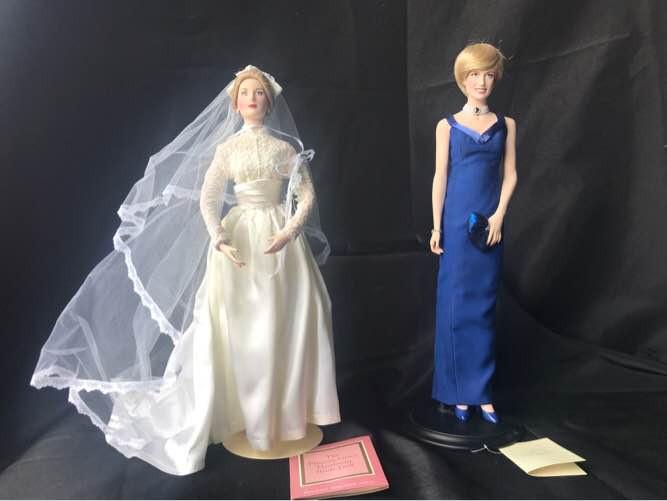 Franklin Mint Princess Diana and Princess Grace