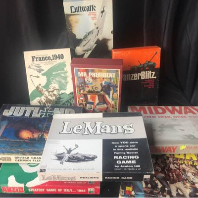 Vintage Strategy Board Game Collection