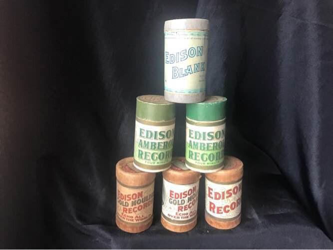 Six Edison Records