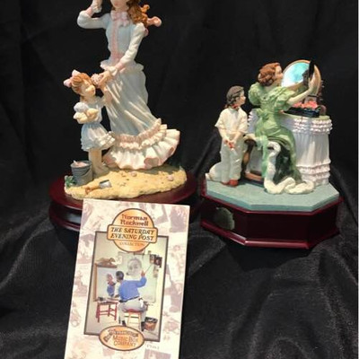 The San Francisco Music Box Company Norman Rockwell Collection