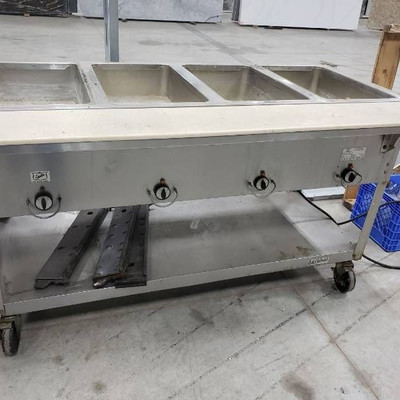 Duke Aerohot 4 bay steam table