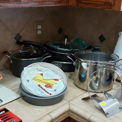 Cuisinart & other pots