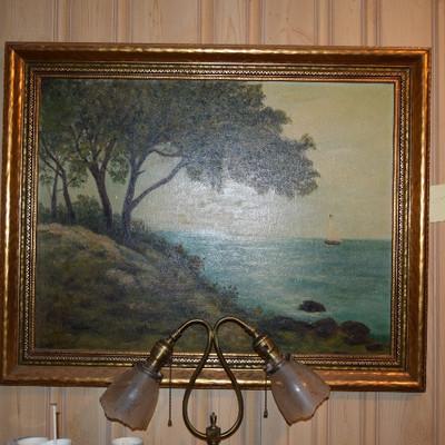 Wall Art, Lamp