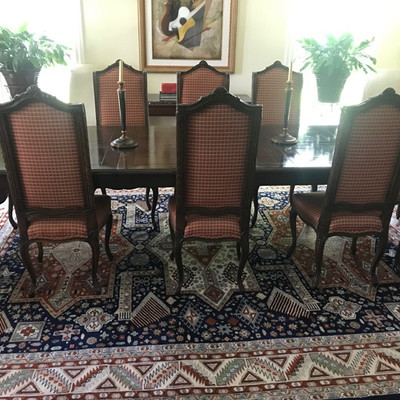Chippendale dining table $1,800 110 X 43 X 29