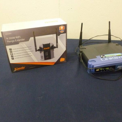 WiFi Extender & Router