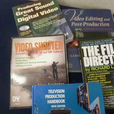 Video Production Books..