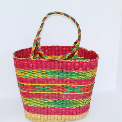 #Beautiful woven bag and basket variety.