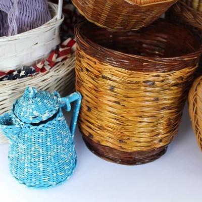 Beautiful woven bag and basket variety...