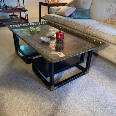 Antique/Vintage Tray Top Asian Coffee Table