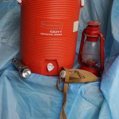 Gott Five Gallon Water Jug-Vintage Ray o Vac Flash ...