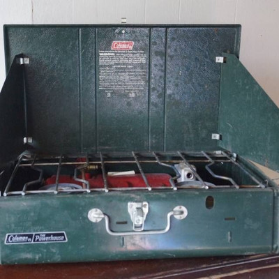 Coleman Powerhouse 2 Burner Camp Cooking Stove-Loo ...