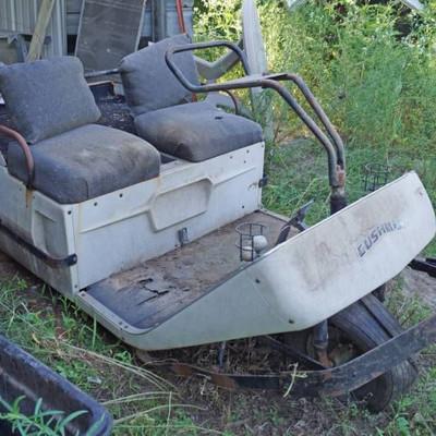 Cushman Three wheeled Golfster- Battery powered- V ...