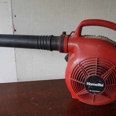 Homelite Gas powered leaf blower-needs primer bulb ...