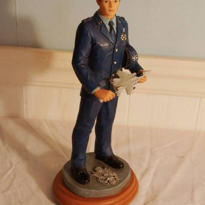 Air Force-American Heroes Small Statue- Dress Reh ...