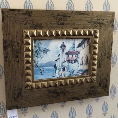CH076: Mediterranean Seaside framed giclee oil on canvas Local Pickup https://www.ebay.com/itm/123821473324