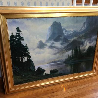 CH075: Albert Bierstadt Brushstrokes Collection Ltd. Edition Local Pickup https://www.ebay.com/itm/113804166048