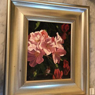 CH093: Lyn Lasneski oil on canvas Local Pickup https://www.ebay.com/itm/123821473331
