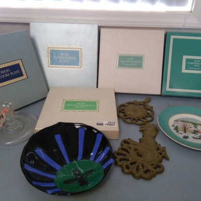 AVON Collectible Plates and MORE