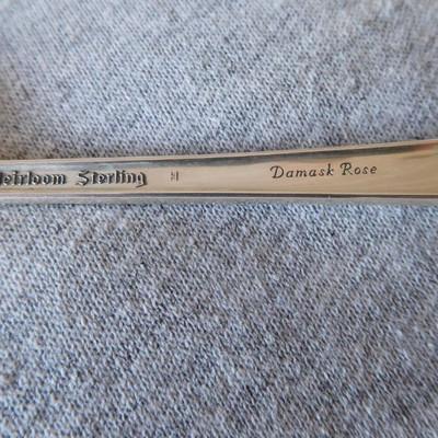 Oneida Heirloom Sterling - Damask Rose Pattern