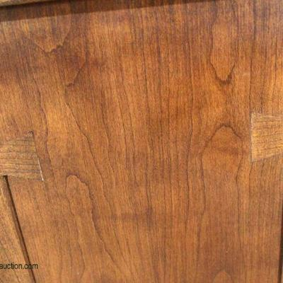 """LIKE NEW SOLID Cherry """"Stickley Furniture"""" 6 Piece Mission Style Breakfast Set  Auction Estimate $1000-$2000 – Located Inside"""