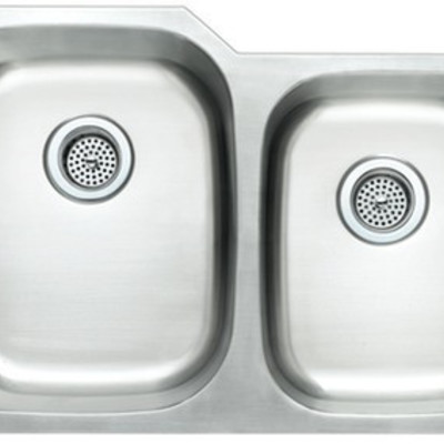 #New Stainless Steel Double Bowl Undermoint Sink