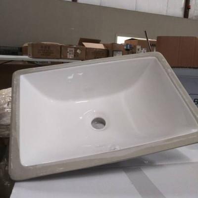 Brand New In Box White Baxter Sink...