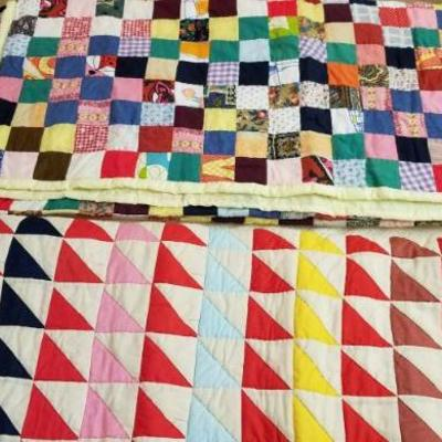Triangle quilt still available