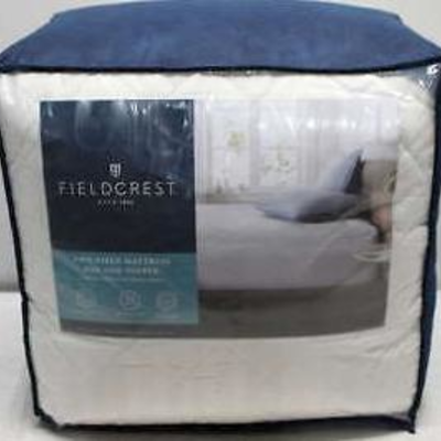 FULL SIZE FIELDCREST Two-Piece Mattress Pad and ...