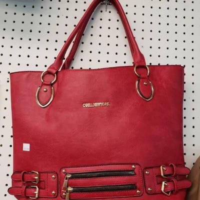 #Cherry Red Lady Bag