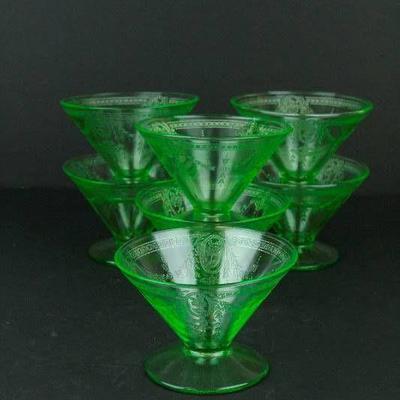 Depression Glass Sherbet Glasses