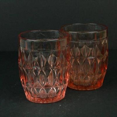 Depression Glass Glasses