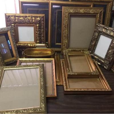 Brass & Gold Tone Frames