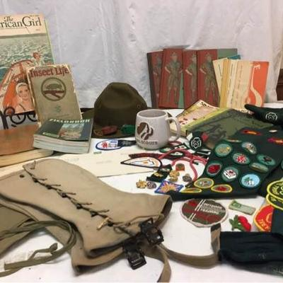 Boy & Girl Scout Memorabilia
