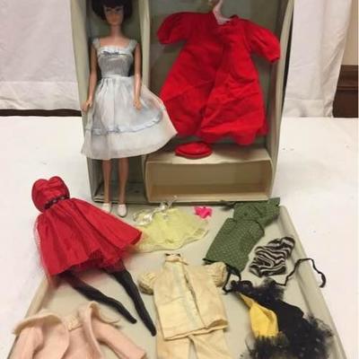 1958 Barbie in Original Case w/Clothes