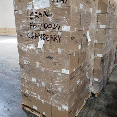 (70) boxes dried cranberries - 700 lbs.