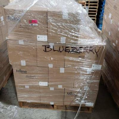 (37) boxes blueberries - 370 lbs.