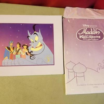 Authentic Aladdin Lithograph