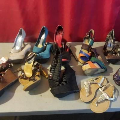 Lot of Ladies Heels