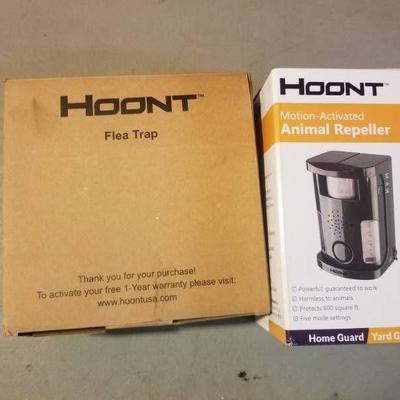 Hoont Flea Trap and Motion Activated Animal Repell ...