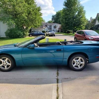 #1995 Pontiac Firebird Convertible, Formula, Trans .....