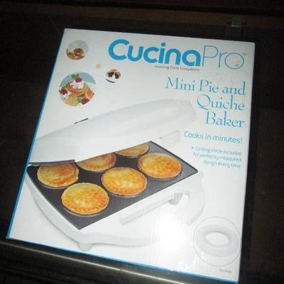 CucinaPro Mini Pie and Quiche Baker..