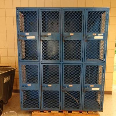 #2 Sets of lockers.